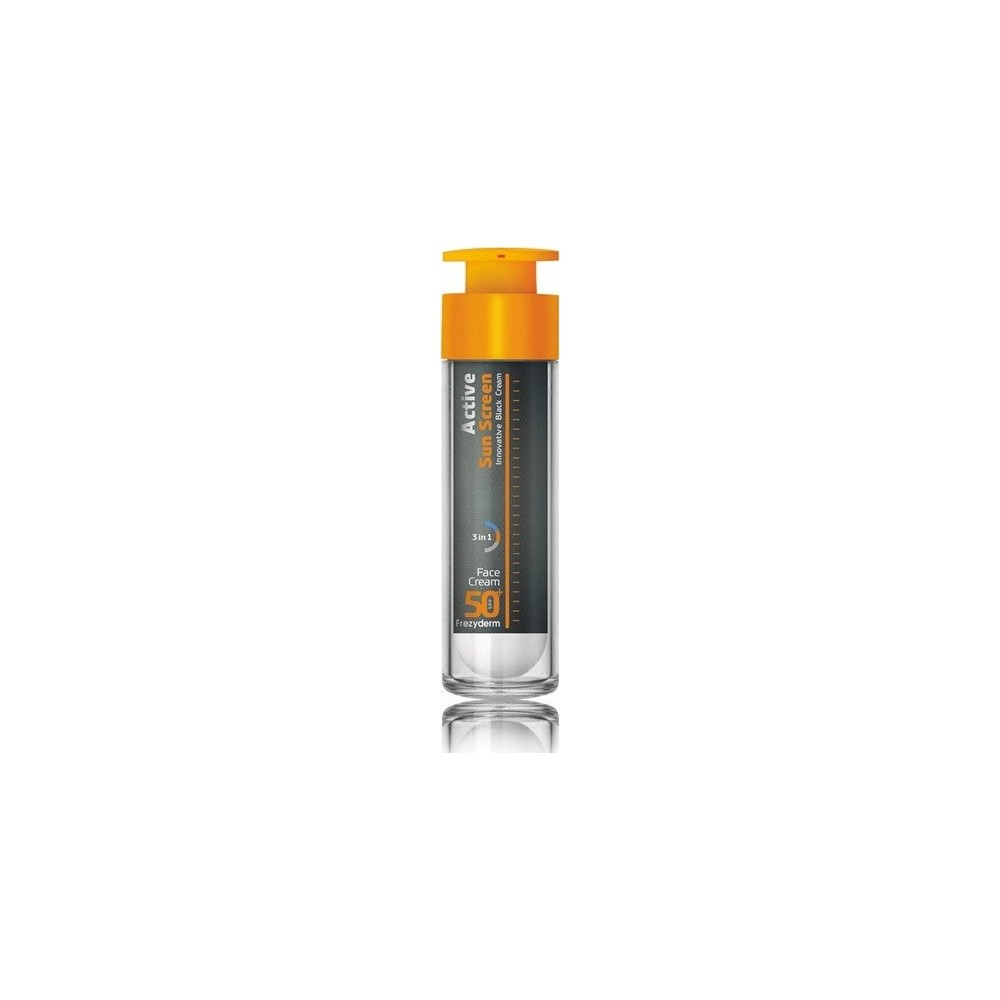 Frezyderm Active Sun Screen Innovative Black Cream SPF50 50ml