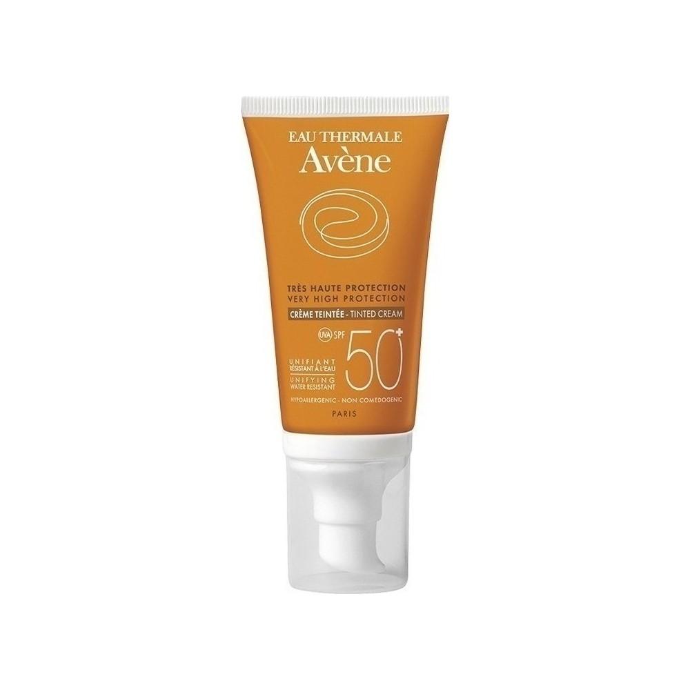 Avene Αντηλιακή Κρέμα Προσώπου με Χρώμα SPF50 50ml