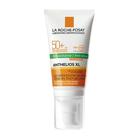 La Roche Posay Anthelios XL Dry Touch Gel-Cream Anti-Shine Tinted Pump SPF50+ 50ml