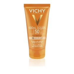 Vichy Ideal Soleil BB Tinted Dry Touch Αντηλιακή Κρέμα με Χρώμα και Ματ Αποτέλεσμα SPF50 50ml