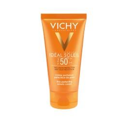 Vichy Ideal Soleil Αντηλιακή Κρέμα για Βελούδινη Επιδερμίδα SPF50+ 50ml