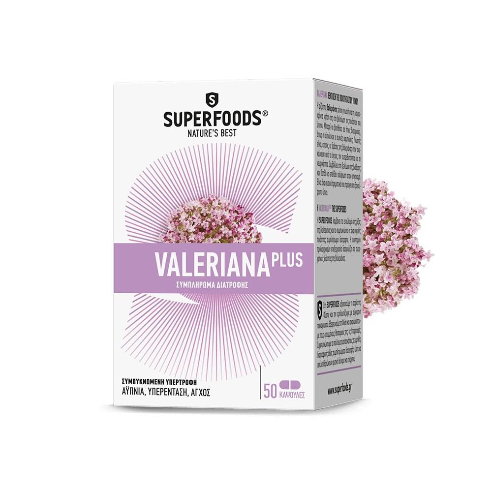 Superfoods Valeriana Plus 50caps