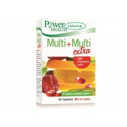 POWER HEALTH - Multi + Multi extra tabs, 30s