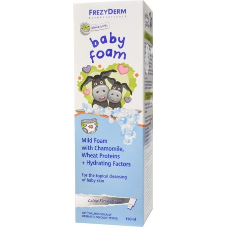 FREZYDERM BABY FOAM 150 ml