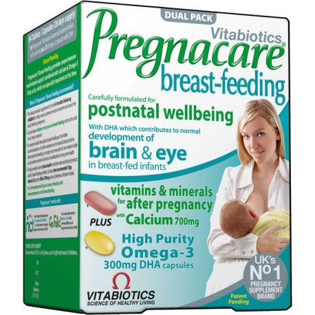 Vitabiotics - Pregnacare Breast-Feeding 56 tabs+28 caps