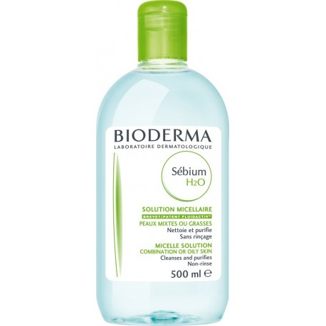 BIODERMA - SEBIUM H2O 500 ML