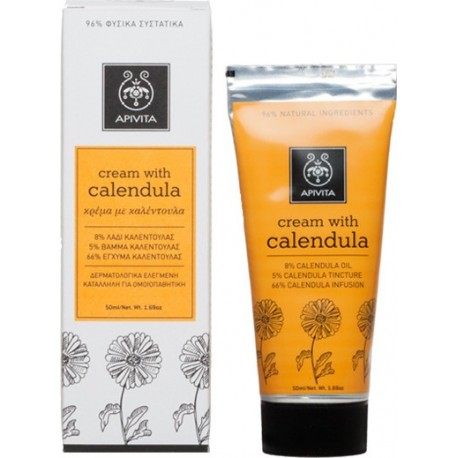 APIVITA - HERBAL CREAM Calendula 50ml