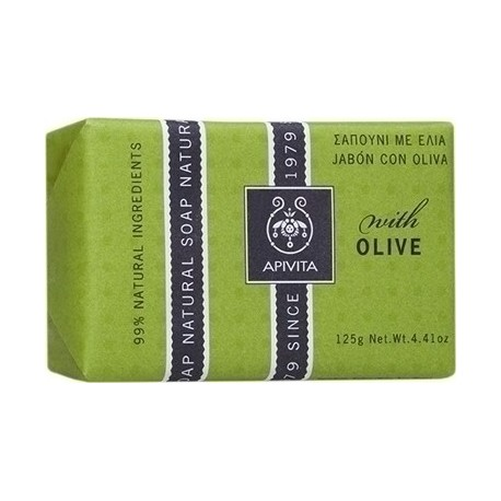 APIVITA - NATURAL SOAP Natural Soap with Olive 125g