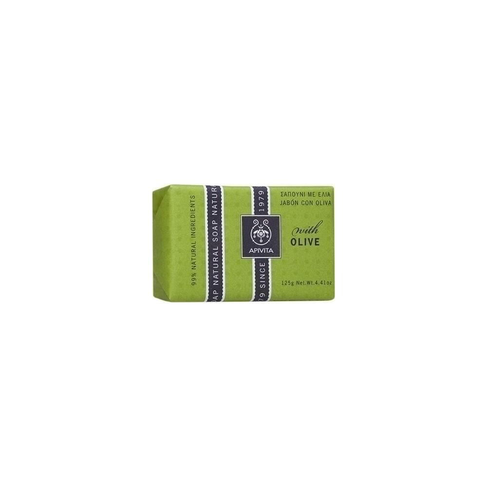 APIVITA - NATURAL SOAP Natural Soap with Olive 125g