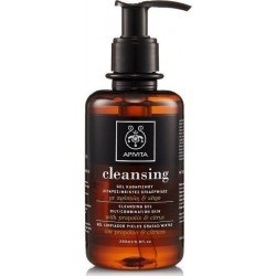 APIVITA - CLEANSING Cleansing Gel for Oily/Combination Skin with citrus & propolis 200ml