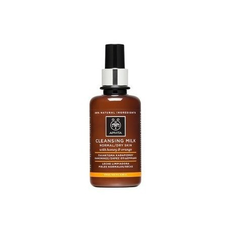 APIVITA - CLEANSING Cleansing Milk for Normal/Dry skin with honey & orange 200ml