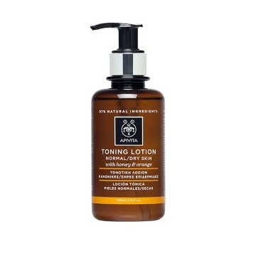 APIVITA - CLEANSING Tonic Lotion for Normal/Dry Skin with honey & orange 200ml