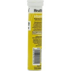 HEALTH AID -  VITAMIN C 1000mg - 20 tabs LEMON