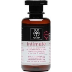 APIVITA - INTIMATE CARE Gentle Cleansing Gel for the Intimate Area for Extra Protection with propolis & tea tree 200ml