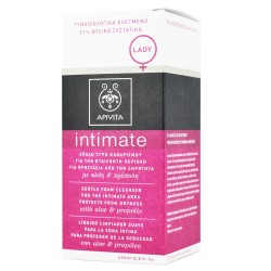 APIVITA - INTIMATE CARE Gentle Foam Cleanser for the Intimate Area Protects from Dryness with aloe & propolis 200ml