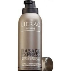 LIERAC - MOUSSE DE RASAGE EXPRESS SHAVING FOAM ANTI-IRRITATION MOISTURIZING FOAM, phial 150ml