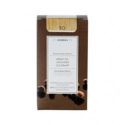 KORRES - Argan Oil Advanced Colorant Μόνιμη Βαφή Μαλλιών με τεχνολογία Pigment-Lock που κλειδώνει το χρώμα 50ml - 9.0 ΞΑΝΘΟ ΠΟΛΥ
