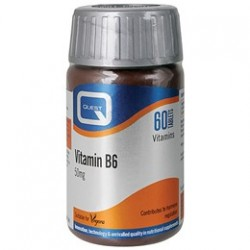 Quest Vitamin B6 50mg 60tabs