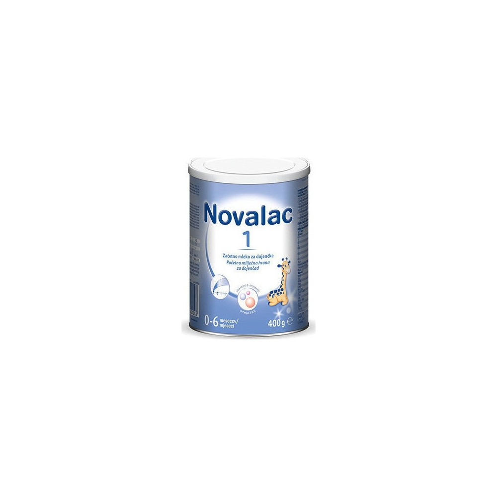 Novalac 1 Βρεφικό Γάλα U.P.Medi-Europe από 0-6 μηνών, 400gr