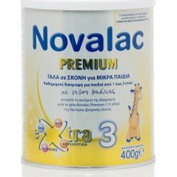 Novalac Premium Xtra 3 Γάλα 3ης Βρεφικής Ηλικίας 400gr