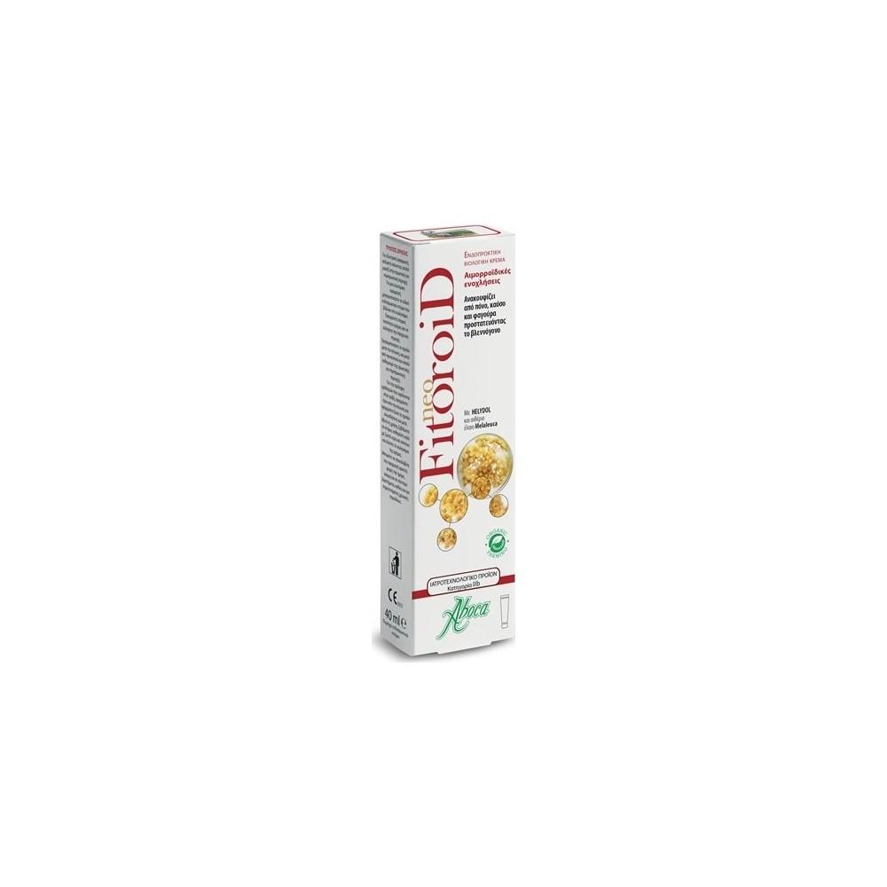 Aboca - Fitoroid hemorrhoids cream, 40 ml