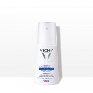 Vichy Deodorant Αποσμητικό Deo Extreme Freshed Spray για Έντονη Αίσθηση Φρεσκάδας 100ml