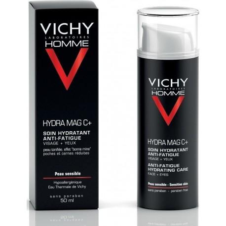 Vichy Homme Hydra Mag C+ Ανδρική Κρέμα Προσώπου για Ευαίσθητες Επιδερμίδες 50ml