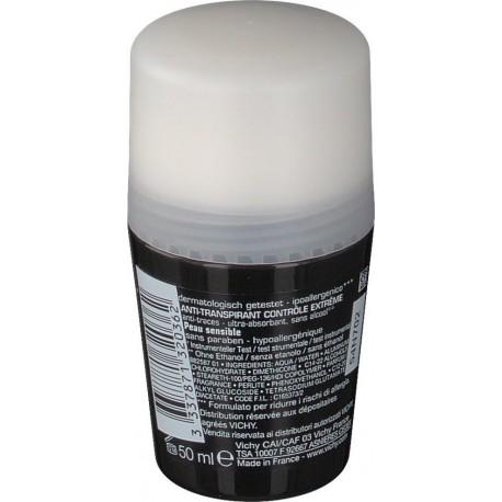 Vichy Homme Deodorant Ανδρικό Αποσμητικό κατά της Εφίδρωσης 50ml