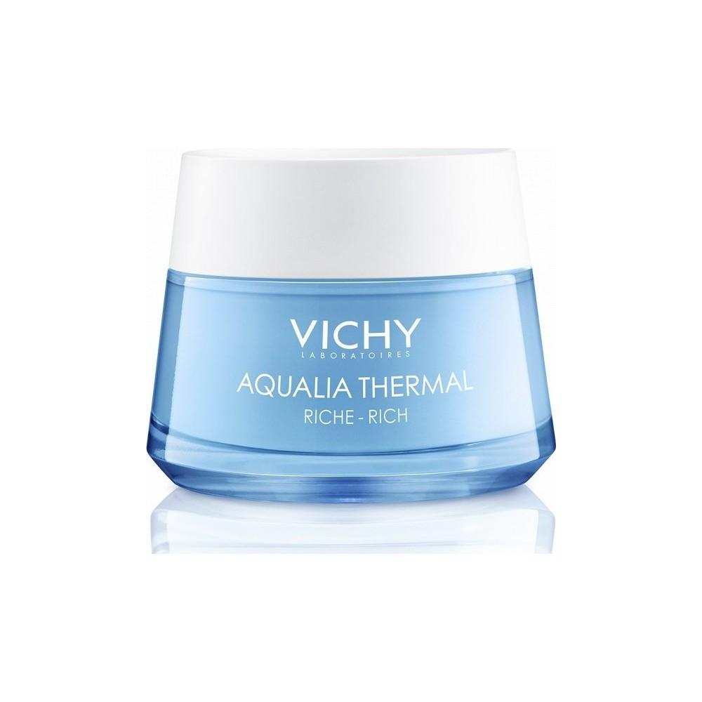 Vichy Aqualia Thermal Rich Κρέμα Ημέρας Εντατικής Ενυδάτωσης Πλούσιας Υφής για Ξηρές - Πολύ Ξηρές Επιδερμίδες 50ml