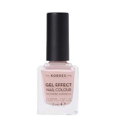 Korres Gel Effect Nail Colour Βερνίκι-Μανό Νυχιών 32 Cocos Sand 11ml