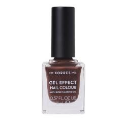 Korres Gel Effect Nail Colour Βερνίκι-Μανό Νυχιών 61 Seashell 11ml