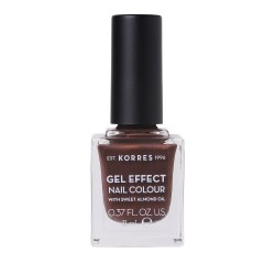 Korres Gel Effect Nail Colour Βερνίκι-Μανό Νυχιών 61 Seashell 11ml