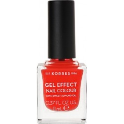 Korres Gel Effect Nail Colour 45 Coral 11ml