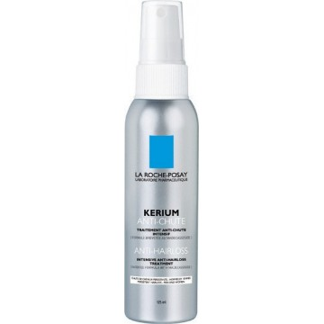 LA ROCHE POSAY - KERIUM ANTI-HAIRLOSS Intensive Anti-Hairloss Treatment, 125ml spray with 2 tips (short or long hair)