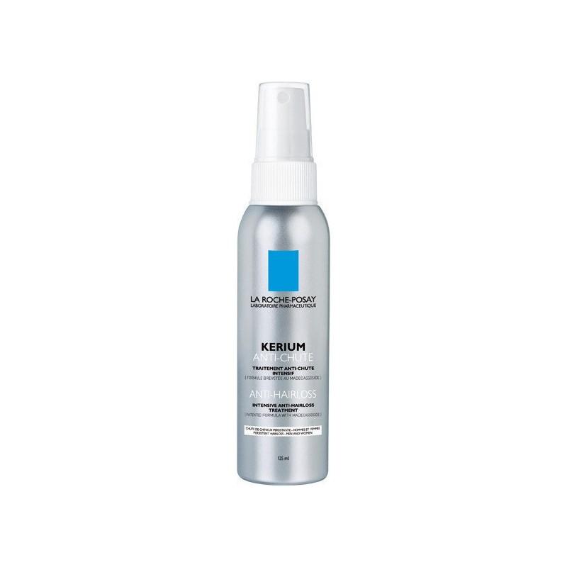 LA ROCHE POSAY - KERIUM ANTI-HAIRLOSS Intensive Anti-Hairloss Treatment, 125ml spray with 2 tips (short or long hair)