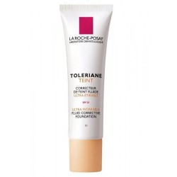 LA ROCHE-POSAY - TOLERIANE TEINT FLUIDE Ultra-workable fluid corrective foundation, 30ml tube - No10 Ivoire