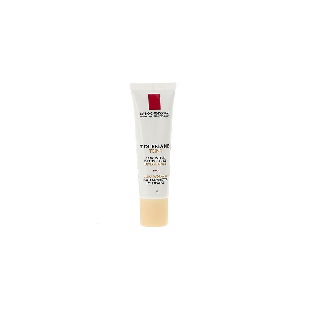 LA ROCHE-POSAY - TOLERIANE TEINT FLUIDE Ultra-workable fluid corrective foundation, 30ml tube - No11 Beige claire