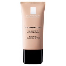 LA ROCHE POSAY - TOLERIANE TEINT HYDRATING WATER-CREAM FOUNDATION SPF 20, Tube 30ml (IN 5 COLORATIONS) - 02 LIGHT BEIGE