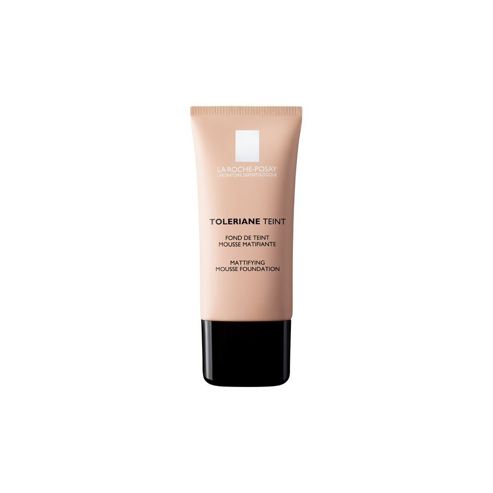LA ROCHE POSAY - TOLERIANE TEINT HYDRATING WATER-CREAM FOUNDATION SPF 20, Tube 30ml (IN 5 COLORATIONS) - 01 IVORY