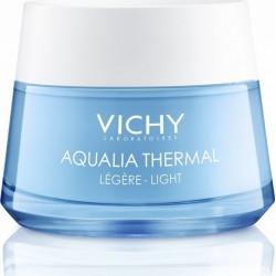 Vichy Aqualia Thermal Light, Κρέμα Ημέρας Εντατικής Ενυδάτωσης Ελαφριάς Υφής για όλους τους Τύπους Επιδερμίδας 50ml