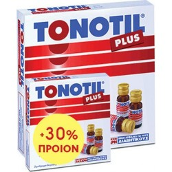 TONOTIL - PLUS 10X10ML +30% GIFT, Food supplement with amino acids and 30% extra product