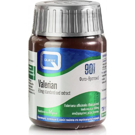 Quest - VALERIAN 83mg Extract 90TABS