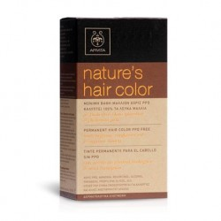APIVITA - NATURES HAIR COLOR 1.0 Black with honey & sunflower - 4.20 Βιολετί με μέλι & ηλίανθο