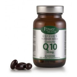 POWER HEALTH - Classics Platinum Range Coenzyme Q10 30 mg, 30caps