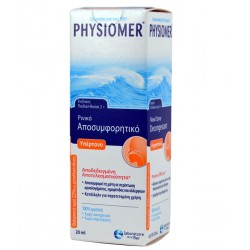 PHYSIOMER - POCKET HYPERTONIC NASAL SPRAY FOR CHILDREN 2 + - ADULTS, 25ml