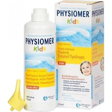 PHYSIOMER - KIDS FOR KIDS 2+, 115ML