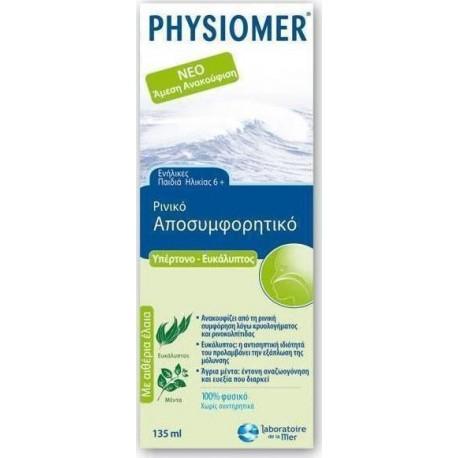PHYSIOMER - EUCALYPTUS, HYPERTONIC, 135ml