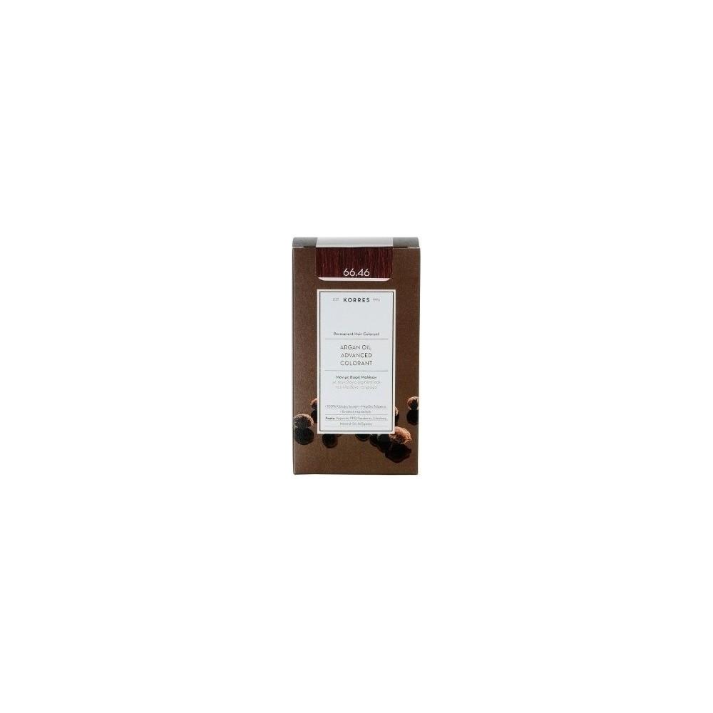 KORRES - Argan Oil Advanced Colorant Μόνιμη Βαφή Μαλλιών με τεχνολογία Pigment-Lock που κλειδώνει το χρώμα 50ml - 66.46 ΕΝΤΟΝΟ Κ