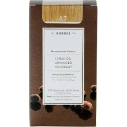 Korres Argan Oil Advanced Colorant 8.7 Καραμέλα