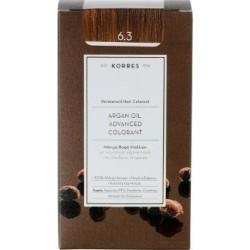 Korres Argan Oil Advanced Colorant 6.3 Ξανθό Σκούρο Μελί